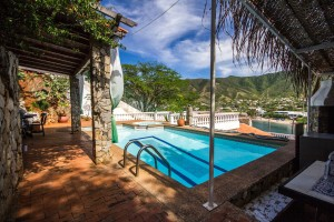 Swimming Pool at Casa Moringa